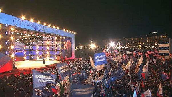 Sieg für Putin: der Osten gratuliert, der Westen bleibt zurückhaltend