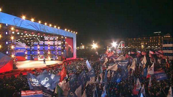 Rusia vuelve a elegir a Vladímir Putin como presidente