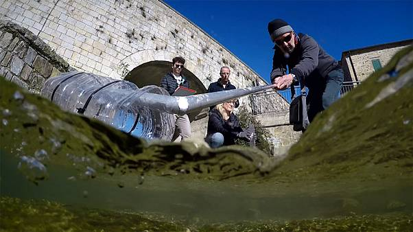 Tackling microplastic pollution in Europe's rivers