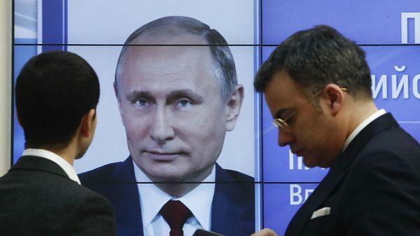 سکوت کشورهای غربی در برابر پیروزی پوتین در انتخابات روسیه
