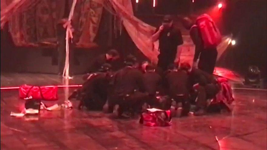 Погиб гимнаст Cirque du Soleil