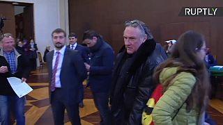 Depardieu was given Russian citizenship in 2013