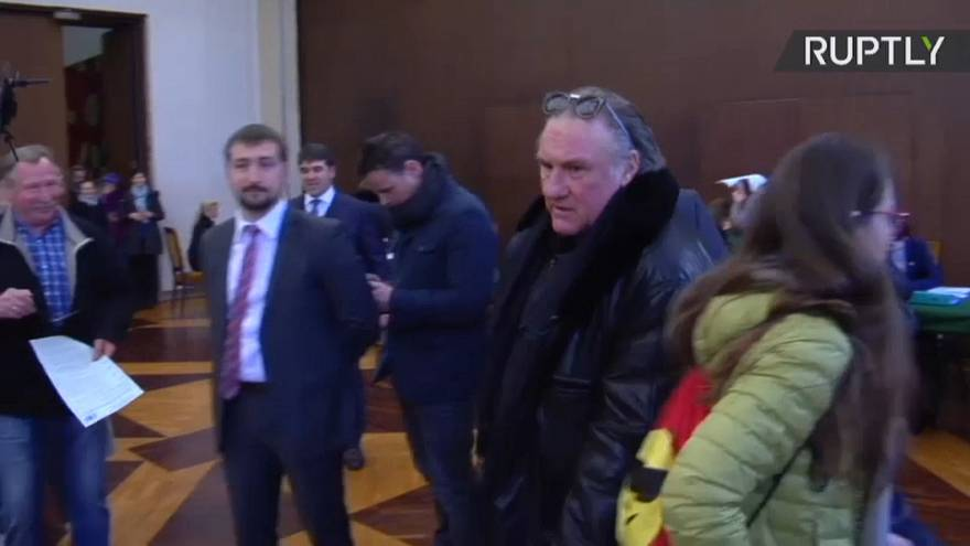 Depardieu was given Russian citizenship in 2013