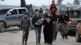 Aproximadamente 200 mil pessoas terão deixado Afrin na última semana