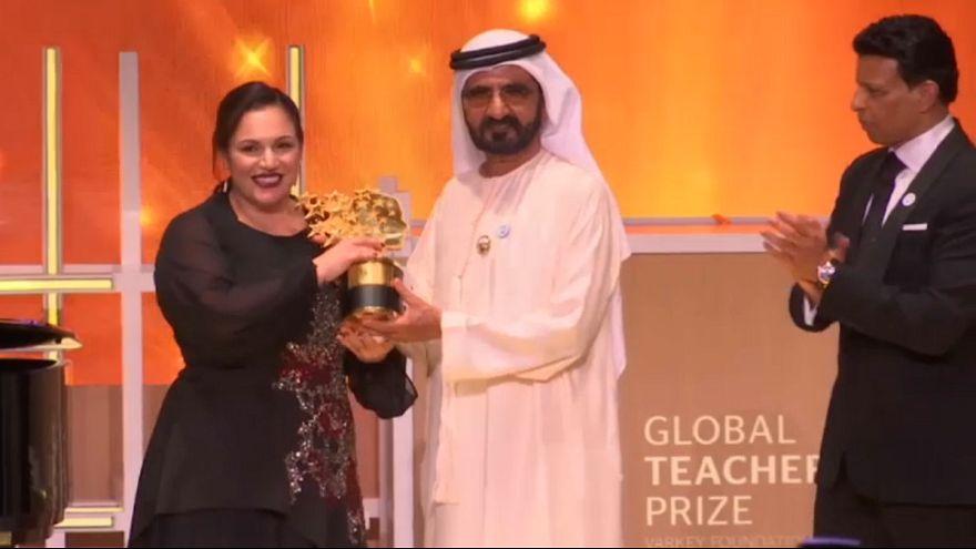 برنده جایزه «یک میلیون دلاری» بهترین معلم دنیا اعلام شد