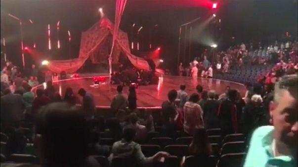 Mort d'un acrobate du Cirque du soleil