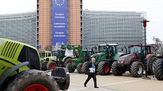 Tractorada contra la reforma de la Política Agrícola Común