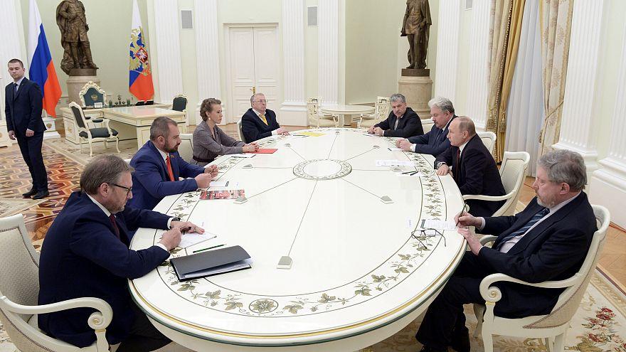 Wladimir Putin: Wollen kein Wettrüsten