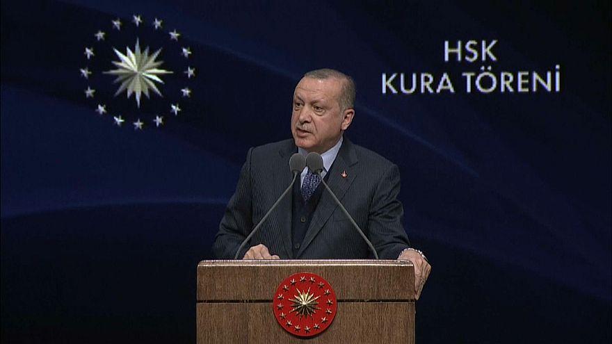 Turkey's Erdoğan signals further military operations in Syria