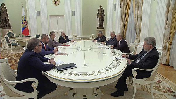 Путин и кандидаты