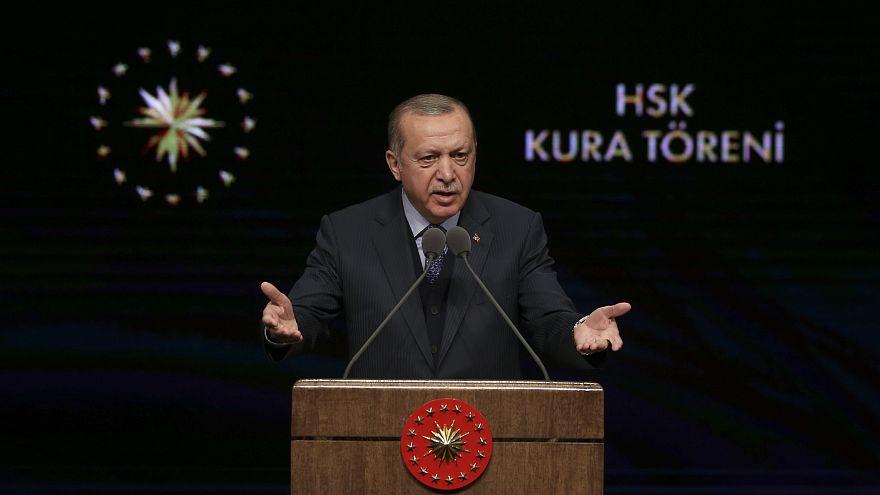 Erdoğan: Terör koridoru ortadan kalkana kadar ilerleyiş sürecek