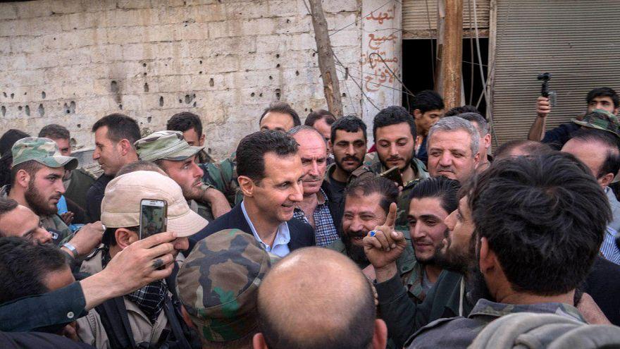 Propagande et provocation pour Bachar al-Assad
