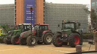 المزارعون الأوروبيون..يحتجون على استيراد لحوم من أميركا الجنوبية