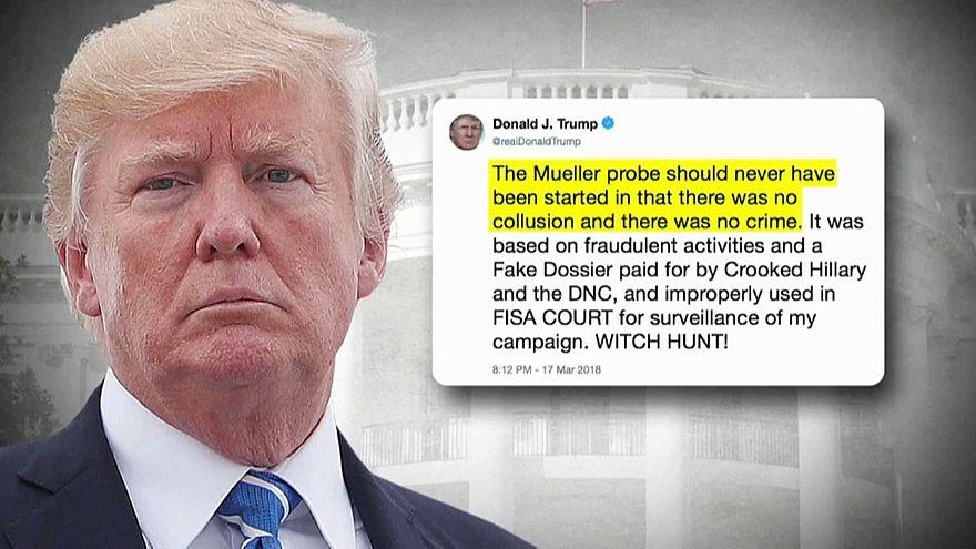 Trump takes aim at Mueller