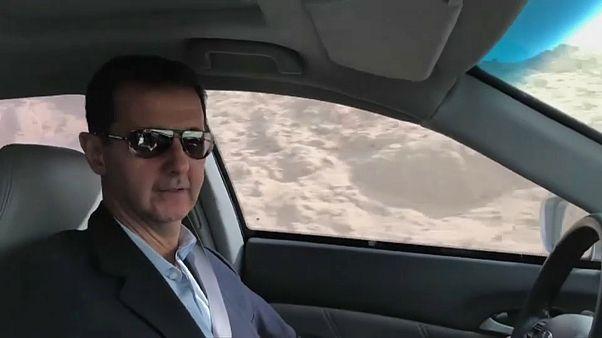 Bashar al Assad - ein Präsident auf PR-Tour durch die Ruinen seines Reiches