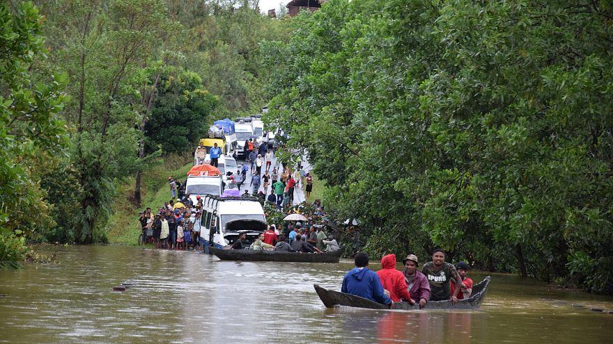 Tempestade mortal em Madagáscar