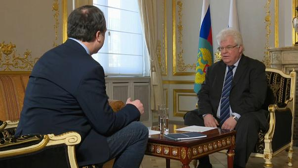 """Chizhov: """"Porton Down fica muito mais perto que Moscovo"""""""