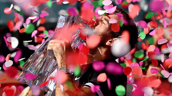 Tennis - Indian Wells : le sacre du revenant Del Potro