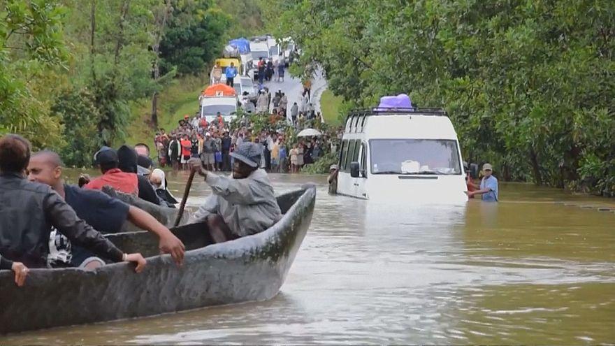 Zyklon wütet auf Madagaskar