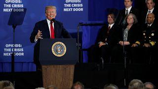 Trump uyuşturucu tacirleri için idam cezası istedi