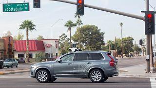 Roboterauto von Uber