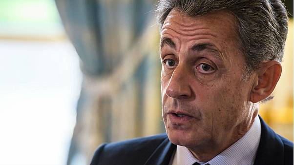 Former French President Sarkozy in police custody: Euronews sources