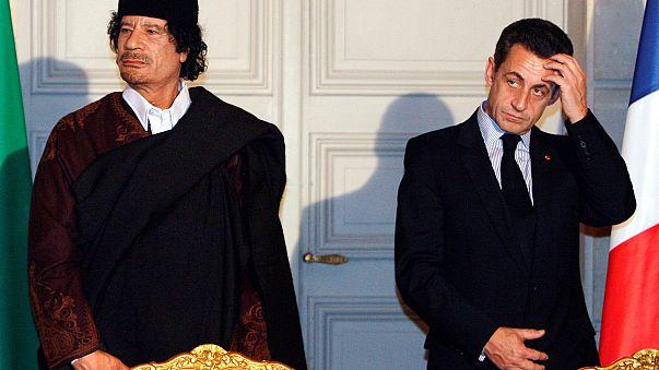 Н. Саркози и М. Каддафи, декабрь 2007 г.