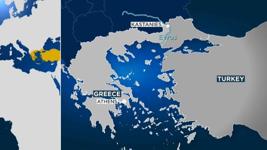 'Alkollü bir Türk Yunan sınırını geçti'