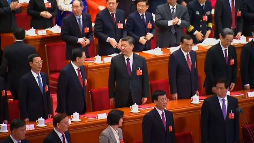 Xi Jinping delivers closing speech at People's National Congress