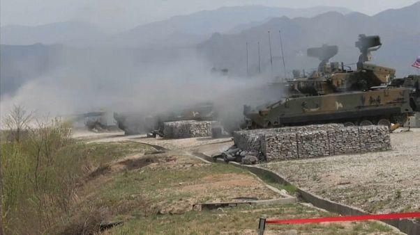 Riprendono le esercitazioni militari congiunte tra Corea del Sud e Stati Uniti