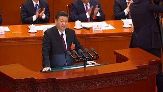 Xi Jinping menaçant avec Taïwan