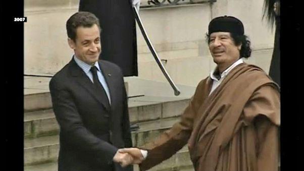 Őrizetben Nicolas Sarkozy volt francia elnök