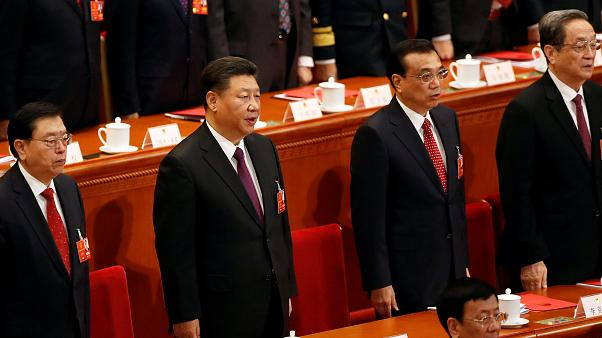 Xi Jinping durante la sesión de clausura de la Asamblea Nacional Popular