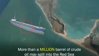 Petroleiro do Iémen em risco de explodir e causar desastre ambiental