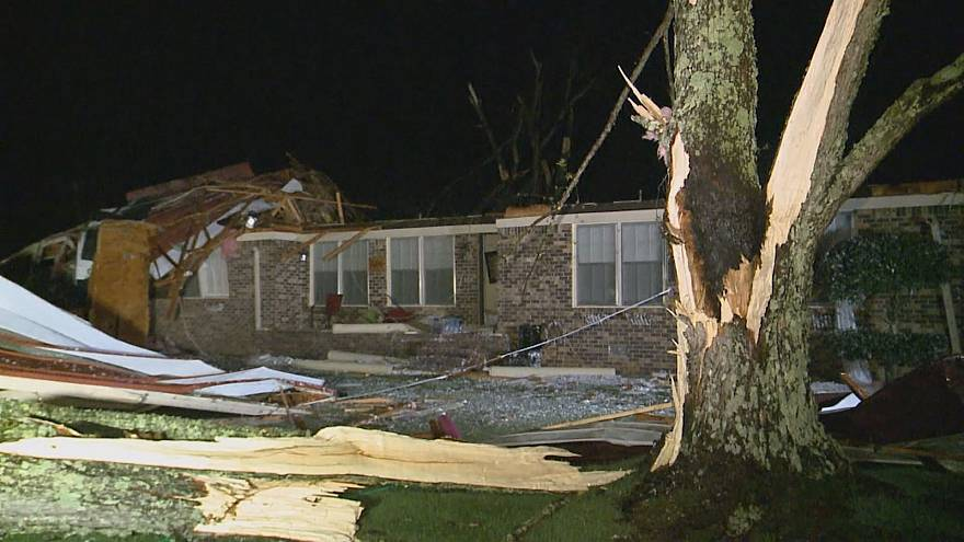 Northern Alabama pummeled by powerful storms