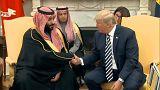 محمد بن سلمان يصل إلى واشنطن