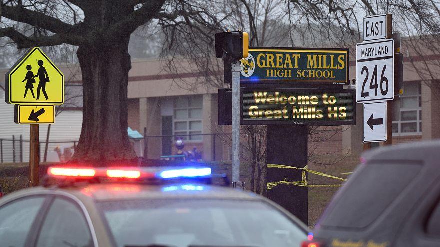 Fusillade lycée Great Mills, Maryland.