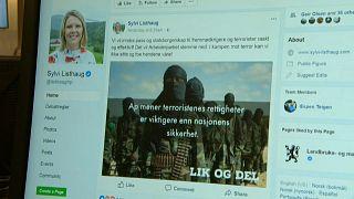 """Norveç: Muhalefete """"teröristlerle beraberler"""" diyen bakan tepkiler üzerine istifa etti"""