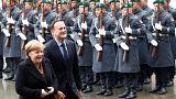 Merkel und Varadkar gegen irisch-nordirische Grenze