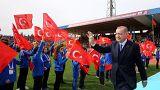 Es hagelt Kritik wegen mangelnder Menschenrechte in der Türkei