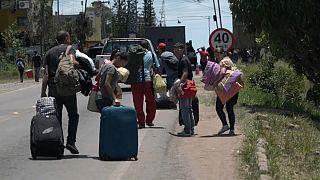 Éxodo masivo de venezolanos hacia Brasil