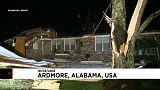 Extremes Unwetter im US-Bundesstaat Alabama