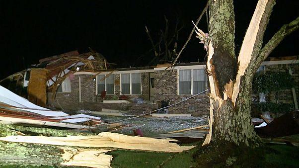 ABD: Alabama'da fırtına