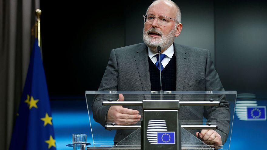 Frans Timmermans, az Európai Bizottság első alelnöke