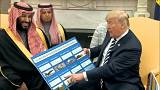 Trump riceve il principe saudita alla Casa Bianca