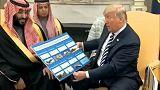 Trump fogadta a szaúdi koronaherceget