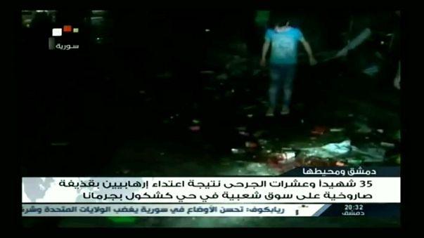 Ataques provocam mais de 40 mortos nos arredores de Damasco