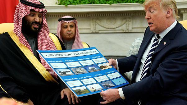 Συνάντηση Ντόναλντ Τραμπ με Μοχάμεντ Μπιν Σαλμάν