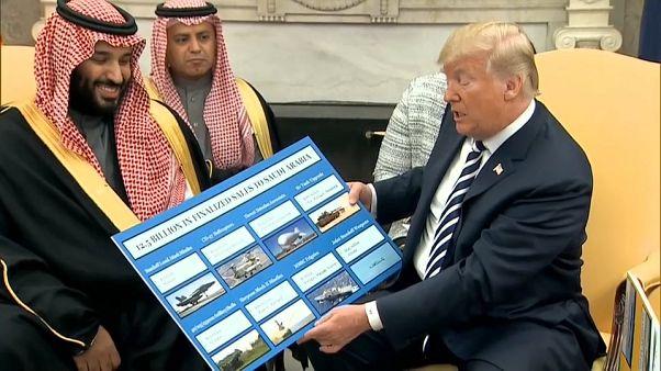 Sintonía aparente en la primera visita a Estados Unidos del príncipe heredero saudí
