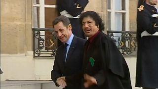 Sarkozy: Was lief da mit Gaddafi?